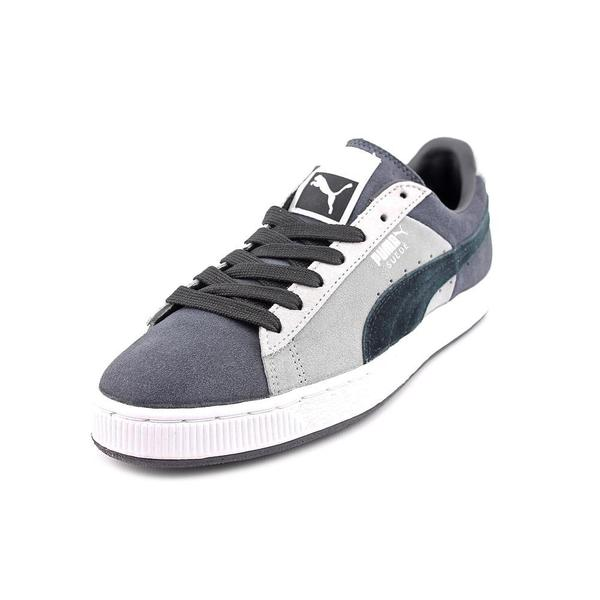 Puma Men's 'Stripes & Blocks' Regular Suede Athletic Shoe