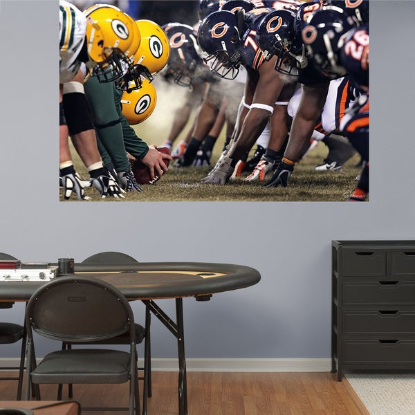 Fathead Bears-Packers Mural Wall Decals