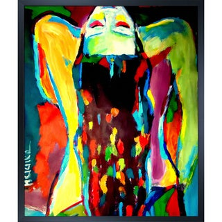 Helena Wierzbicki 'Serenity' Framed Fine Art Print