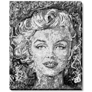 Jeffery Pierson 'Marilyn Monroe' Gallery-wrapped Fine Art Print
