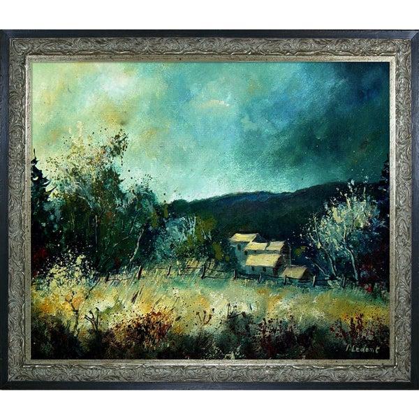 Pol Ledent 'Landscape Ardennes 54' Framed Fine Art Print