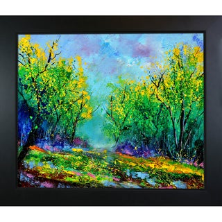 Pol Ledent 'Magic forest' Framed Fine Art Print