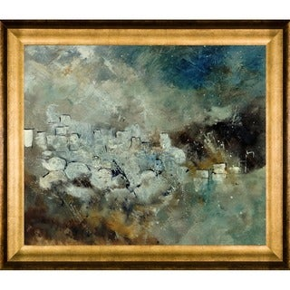 Pol Ledent 'Abstract 66210101' Framed Fine Art Print