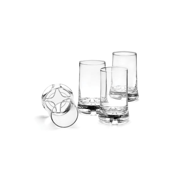Lenox Kobenstyle Clear 4-piece Highball Glass Set