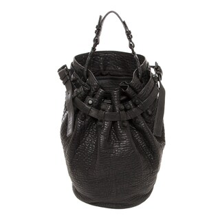 Alexander Wang 'Diego' Black Lambskin Bucket Bag