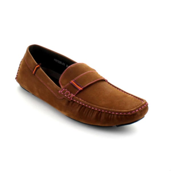 J's Awake Men's 'Peter-31' Slip-on Driving Moccasin Loafers