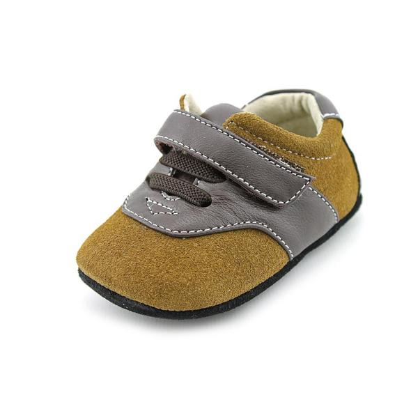 Smaller By See Kai Run Boy (Infant) 'Lucas' Regular Suede Athletic Shoe (Size 6-12 Months )