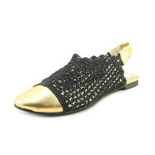 All Black Women's 'Cap Crochet' Crochet Dress Shoes