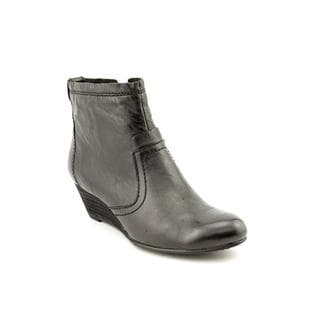 Calvin Klein Jeans Women's 'Shayla Tumbled' Leather Boots (Size 9 )