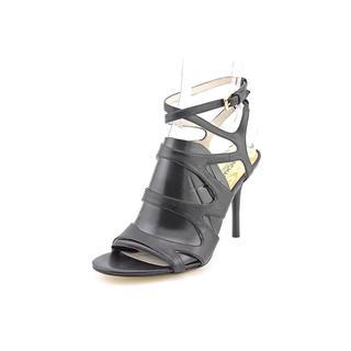 Michael Kors Women's 'Yvonne Ankle Strap' Leather Dress Shoes