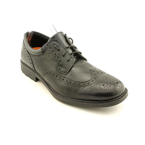Rockport Men's 'Esntial DTL WP Wing' Leather Dress Shoes - Wide (Size 9.5 )