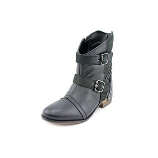 Naughty Monkey Women's 'Short and Stout' Leather Boots (Size 6 )