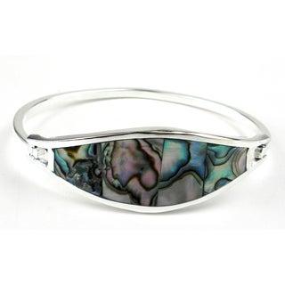 Pacific Blue Abalone Clip Bracelet (Mexico)