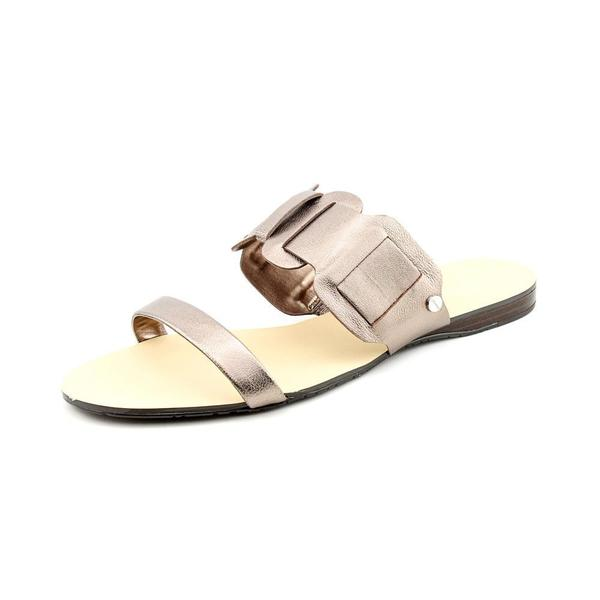 Calvin Klein Women's 'Giordana' Leather Sandals
