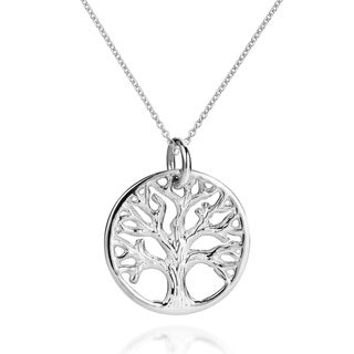 Mystic Tree of Life Branches .925 Sterling Silver Necklace (Thailand)