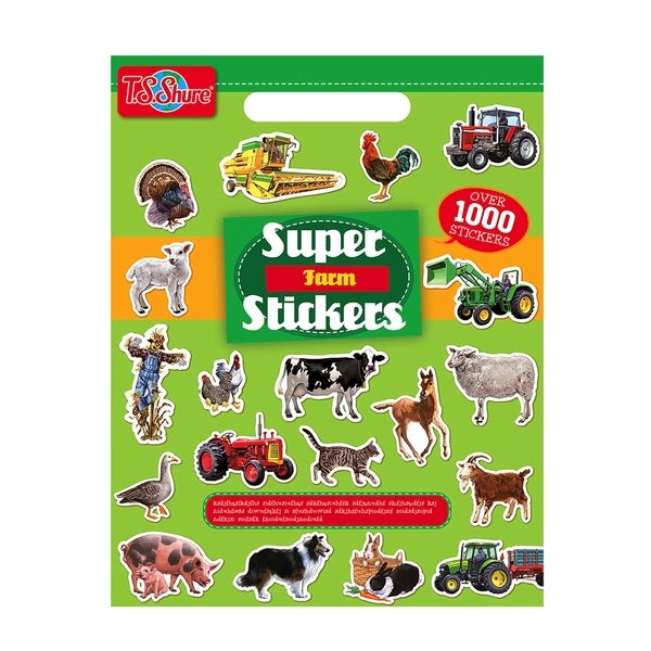 T.S. Shure Farm Super Sticker Book