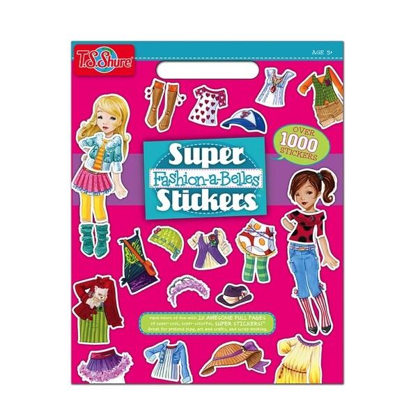 T.S. Shure Fashion Super Sticker Book