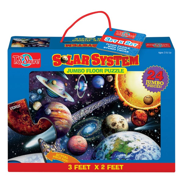 T.S. Shure Solar System Jumbo Floor Puzzle