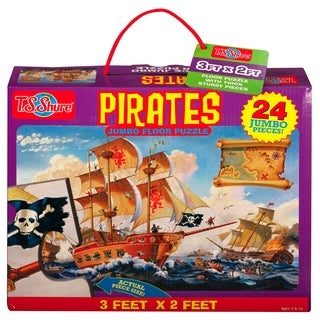 T.S. Shure Pirates Jumbo Floor Puzzle