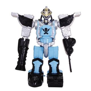 Power Ranger Megaforce Deluxe Q Rex Zord Armor Ranger
