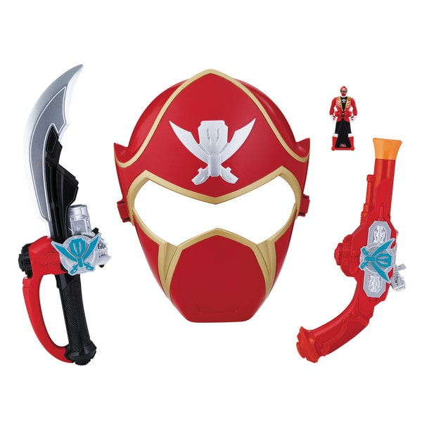 Bandai Power Rangers Red Ranger Hero Set 13872715
