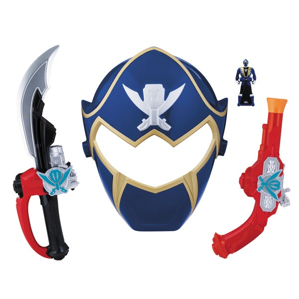 Bandai Power Rangers Blue Ranger Hero Set 13872716