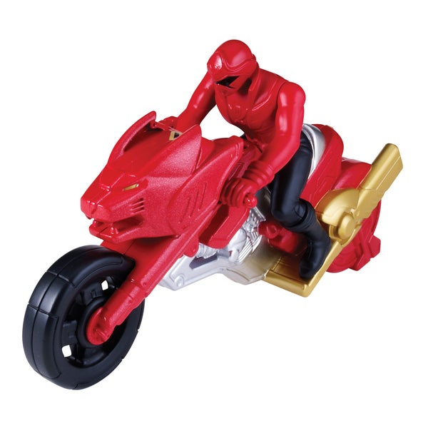 Power Rangers Megaforce Lost Galaxy Cycle Red Ranger 13872719