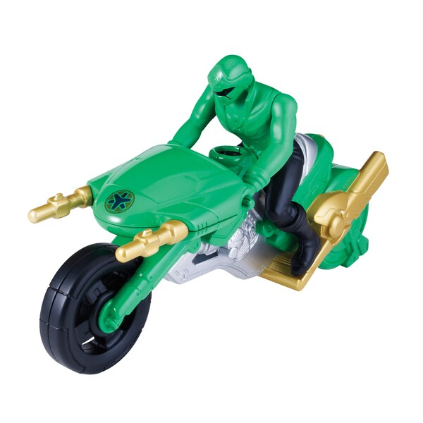 Power Ranger Megaforce Lightspeed Rescue Cycle Green 13872721