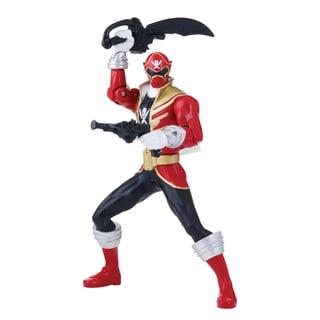 Power Rangers Double Battle Glow-in-the Dark Red Ranger