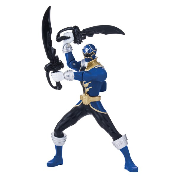 Power Rangerss Battle Glow-in-the Dark Blue Ranger