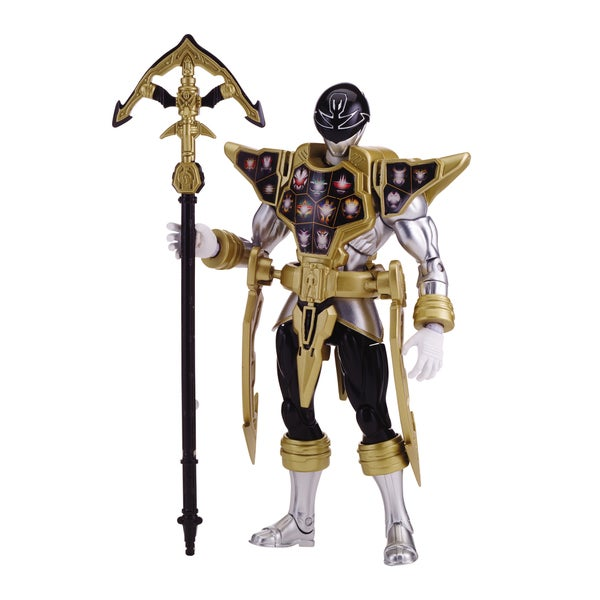 Power Ranger Megaforce Armored Super Mega Silver Ranger