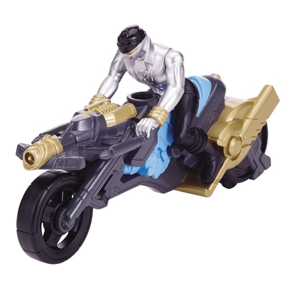 Power Rangers Turbo Cycle and Silver Ranger 13872745