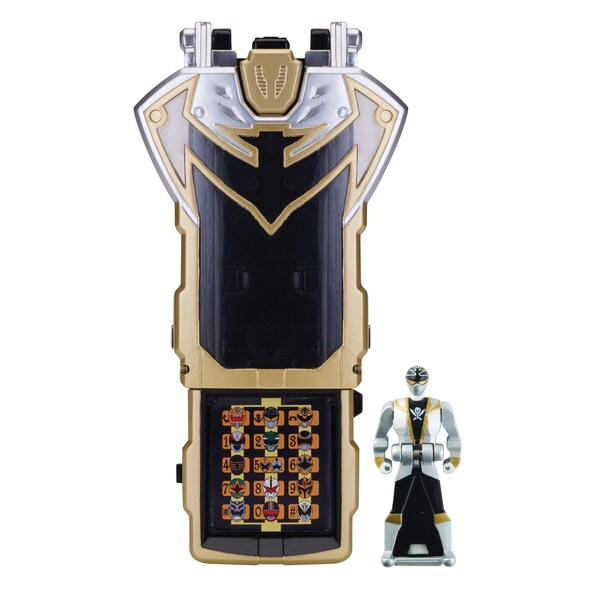 Power Rangers Super Megaforce Silver Morpher 13872746