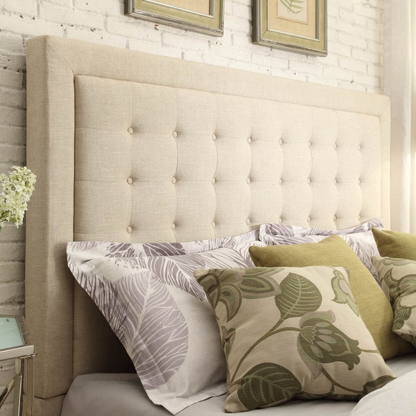 Inspire Q Bellevista Button Tufted Square Full Upholstered