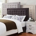 INSPIRE Q Bellevista Button-tufted Square Full Upholstered Headboard