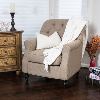 Christopher Knight Home Hemsley Fabric Club Chair