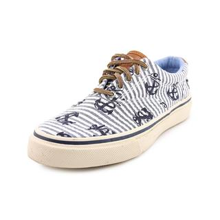 Sperry Top Sider Men's 'Striper Cvo' Canvas Athletic Shoe (Size 8 )