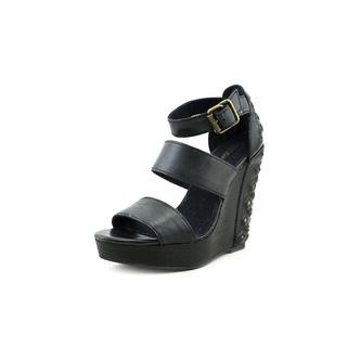 Calvin Klein Jeans Women's 'Hara' Leather Sandals