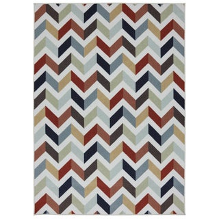 Mixed Chevron Metropolitan Rug (8' x 10')