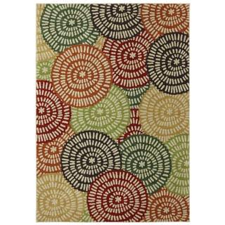 Woven Karastan Kimono Croissant Nylon Rug (8' x 10')