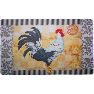 Rooster Bergerac Door Mat (1'6 x 2'6)