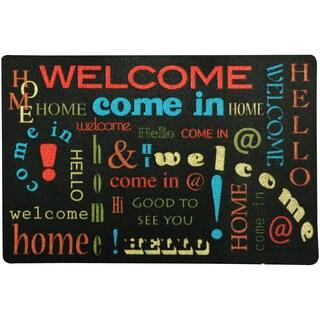 Welcome Font Door Mat (1'6 x 2'3)