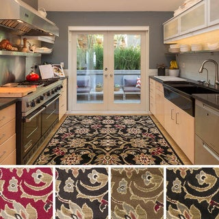 Meticulously Woven Fulton Traditional Polypropylene Area Rug (5'3 x 7'6)