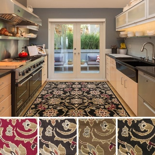Meticulously Woven Fulton Traditional Polypropylene Area Rug (7'10 x 10'10)