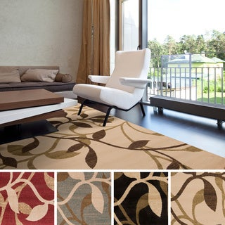 Meticulously Woven Winder Floral Polypropylene Area Rug (10' x 13')