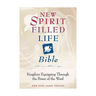 New Spirit Filled Life Bible: Kingdom Equipping Through the Power of the Word (Hardcover)