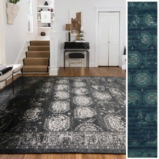 Emerson Medallion Tile Rug (7'6 x 10'5)