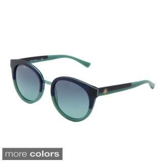 Tory Burch Women's 'TY7062' Round Sunglasses