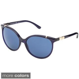 Tory Burch Women's 'TY9032' Plastic Cat-eye Sunglasses