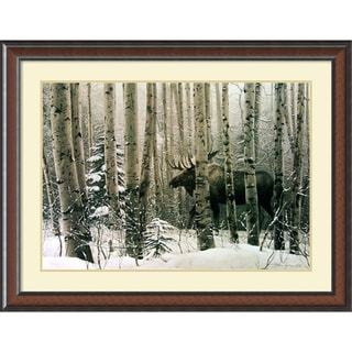 Stephen Lyman 'A Walk In the Woods' 45 x 34-inch Framed Art Print